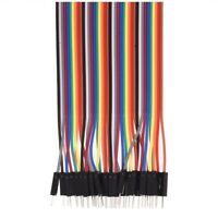 For 40Pin 20cm 2.54MM Dupont Wire Jumper Cable Male to Male 1P-1P V337A