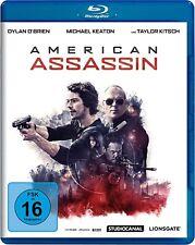 AMERICAN ASSASSIN (Dylan O'Brien, Michael Keaton) Blu-ray Disc NEU+OVP