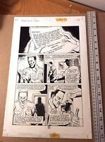 Preacher Original art Story of You Know Who* ORIGIN Arseface Ennis Dillon Case