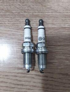 VW Audi NGK Spark Plugs x2 101000062AB