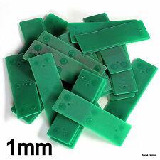 50 x 1 mm piatto doppi vetri vetro Packers Distanziatore Finestra Porta Telaio Shim CUCINA