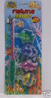 Kids Bathtime Fishing Set new toys hook & 4  fish fun game in the bath childrens