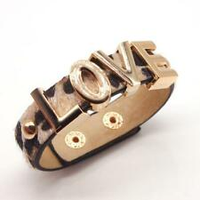 Leopard LOVE Leather Bangles - Boho Wrap Female Multilayer Bracelet
