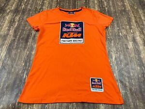 Red Bull KTM Factory Racing Orange T-Shirt - Women's Medium