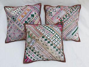 37x37cm Orient Patchwork Kissen Kissenhülle Embroidered pillow Cushion cover -B