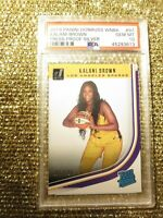 Kalani Brown LA Sparks 2019 WNBA Donruss Press Proof Silver PSA 10 GEM MINT