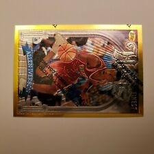 1996-97 TOPPS FINEST GOLD ROOKIE ALLEN IVERSON RC SP CARD#280 RARE NICE!!