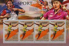 USAIN BOLT (Jamaica) Athletics Sprinter / Sport Stamp Sheet (2012 Burundi)