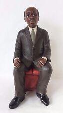 Sarah's Attic W. E. B. Dubois Sitting on Bench Black Heritage Historical Series