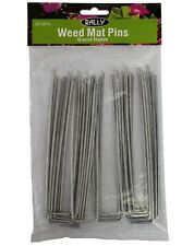 Ground Staple Weedmat Landscaping Fabric Geotextile Staples  U Pins 150mm Pk 20