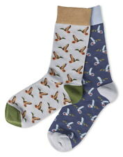 Mens Duck Socks Ducks Gift Pair Novelty Fun Boys Gents Christmas Two Pairs Gifts