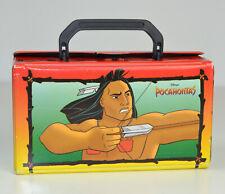 Disney Pocahontas Kassetten Koffer für 10 Kassetten MC -  Vintage