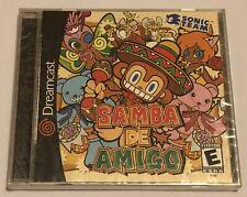 Samba De Amigo - SEGA Dreamcast (New & Sealed) USA 2000 Solus