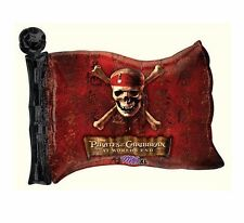 """NEW Pirates of Caribbean Flag BALLOON BIRTHDAY Party Decorations Supplies ~ 30"""""""
