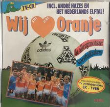 WIJ HOUDEN VAN ORANJE 12TR CD 1988 FOOTBALL / SOCCER / VOETBAL