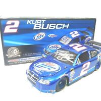 Autographed Kurt Busch 1:24 Scale NASCAR action racing collectibles