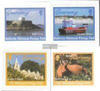 GB-Guernsey 769-772 (kompl.Ausg.) postfrisch 1998 Ansichten