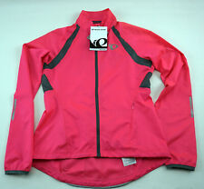 Pearl Izumi Women's Elite Barrier Cycling Jacket XS Hot Pink/Smoke