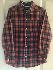 Boys Size 8 Oshkosh Long Sleeve Button Up Shirt Back To School