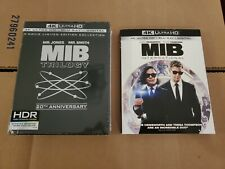 Men In Black 4-Film Collection: w/Slipcovers (4K Ultra Hd & Blu-ray) No Codes
