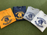 MARQUETTE WARRIORS TSHIRT - MU BASKETBALL - GOLDEN EAGLES SHIRT
