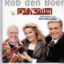 (777N) Rob de Boer, Doe Normaal - 1998 CD