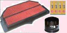 Kit De Servicio-Tapones De Aire Y Filtro De Aceite para adaptarse a Suzuki Gsxr Gsxr1000 k5-k6 2005-06