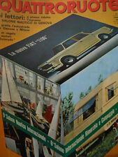 Quattroruote 122 1966 - Test NSu Prinz 1000 S - Servizio FIAT 1100 R    [Q36]