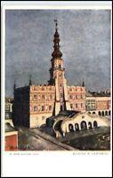 Zamościu Polen alte AK Verlag Piotra Zsmosé Postkarte