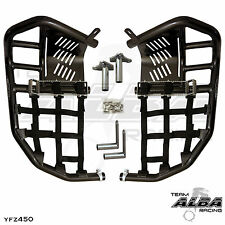 Yamaha YFZ 450  Nerf Bars  Pro Peg  Alba Pro Elite  Black Black 199 T7 BB