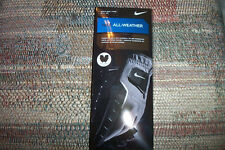 1 pair  BRAND NEW Nike All Weather gloves  extra small  black
