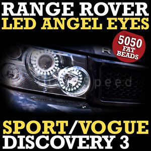 RANGE ROVER SPORT LED DRL ANGEL EYES ANGELEYES SUPER BRIGHT VOGUE