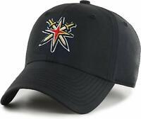 Vegas Golden Knights Alternate Logo Windbreaker Nylon Dad Hat Black Adult NHL