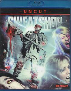 Sweatshop (2009)...Blu Ray Disc..Horror/Gore..Uncut...