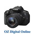 New Canon EOS 700D + 18-55 IS SMT Kits 18MP Full HD DSLR Camera 1 Year Au Wty