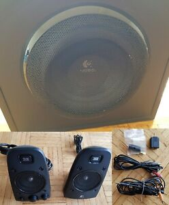 Logitech Z623 2.1 Computer Speakers (Subwoofer, 2x Satellite, Audio Cables)