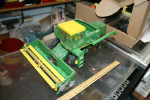 VINTAGE 1960's John Deere Farm Toy Combine 6600 USED Estate Purchase WOW #2  JSH