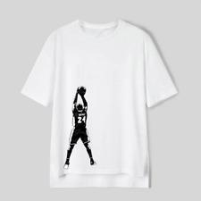 Kobe Bryant Black Mamba No 24 NBA Lakers Basketball Superstar Player Cloth Patch