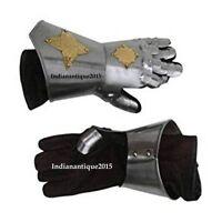 Medieval Armour Functional Gauntlets Steel Gauntlet-Gloves Medieval Costume