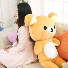 Japanese San-x Rilakkuma Relax Bear Pillow Plush soft Toys Doll Xmas gift 60cm*