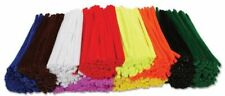 250 x Mixed/Random Colours Pipe Cleaners Craft Cleaner Arts & Crafts 15cm x 4mm