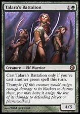 Talara's Battalion - LP - Duels of the Planeswalkers MTG Magic Cards Green Rare