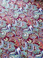 Multicoloured Floral Print Fabric 100% Cotton Poplin Dressmaking Crafts Quilting