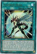 Favourite Hero - Ultra Rare - LED6-EN015 Mint Yugioh Card