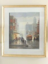 G. Harvey Signed Limited Edition Offset Lithograph City by the Bay San Francisco
