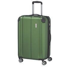 Travelite City 4w verde 68cm 4rad trolley viaje maleta cerradura de equipaje ampliable