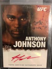 Anthony Johnson Ufc Topps 2010 Red Ink Auto 11/15