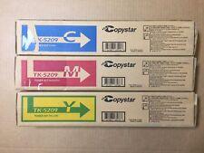 Genuine Copystar TK-5209 CMY Color Set for CS356ci - Same Day Shipping
