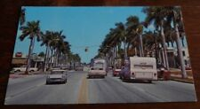 Vintage Postcard Krome Ave Homestead Fl 1960s Trailers