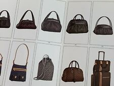 LOUIS VUITTON FALL 2005 WOMEN BAGS SHOES MIZI CATALOG POSTER PAMPHLET